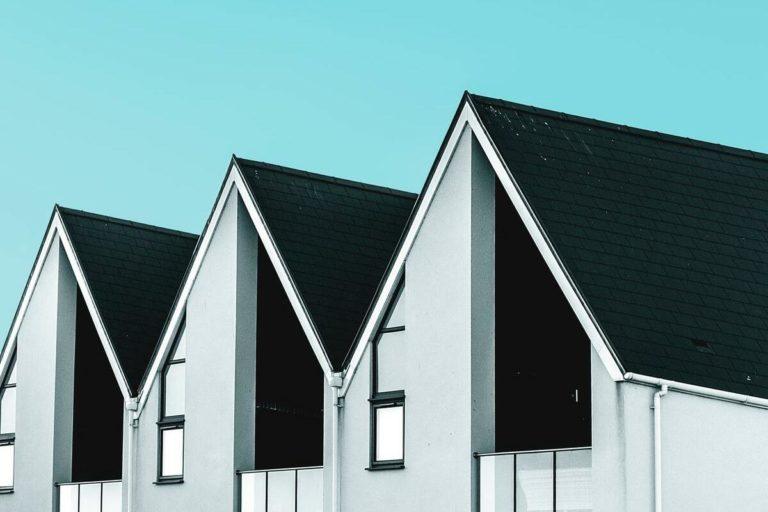 toits maisons