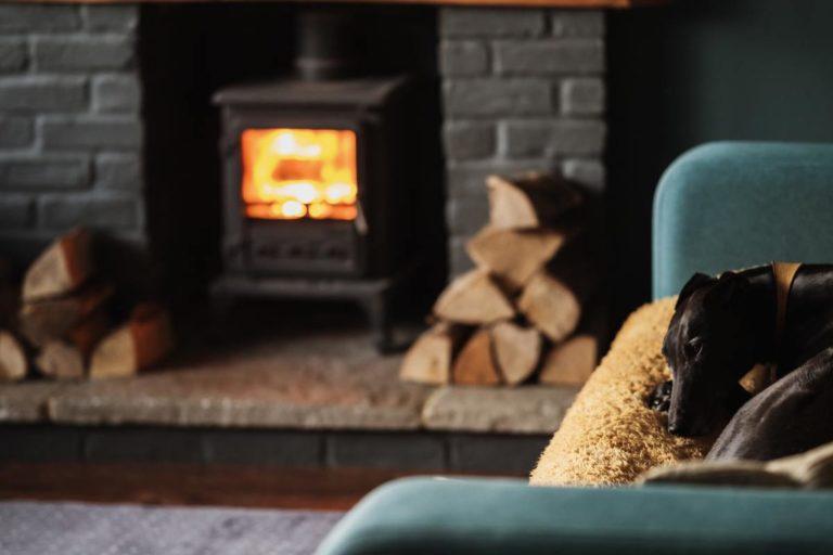 chauffage appoint basse consommation feu de cheminée