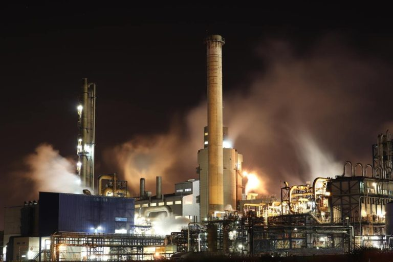 chauffage gaz de ville usine