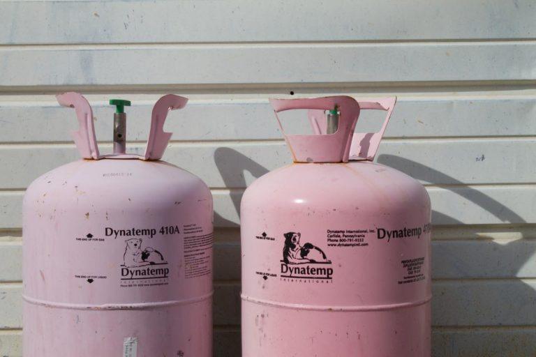 bonbonne de gaz chauffe-eau gaz butane