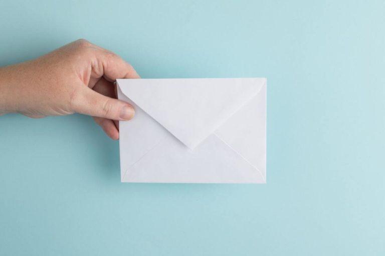 enveloppe envoie chèque énergie