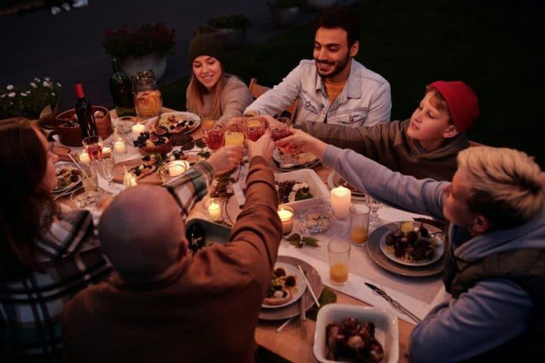 Chauffage extérieur électrique dîner